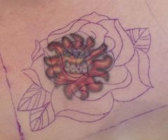 Bright rose before cover up by IAteAllMyPaste