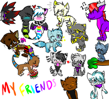 MY FRIENDS :D by CooI