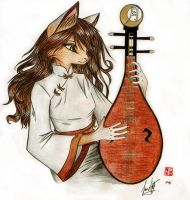 The Chinese Guitar by Arcayne92