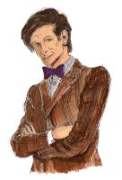 The 11th Doctor by DrinkCactusJuice