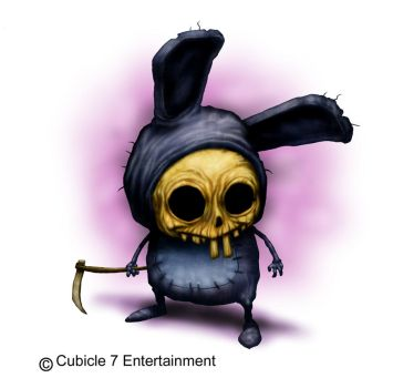 Death Bunny by DaveAllsop