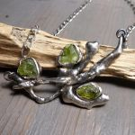 Rustic twig necklace by Jealousydesign