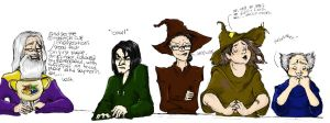 Heads of House by MioneBookworm