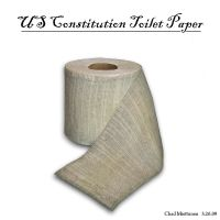 US Consitution Toilet Paper by bluefire4000