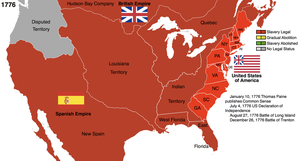 US History and Slavery: 1776 by Hillfighter
