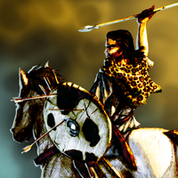 Numidian Cavalry by LordGood