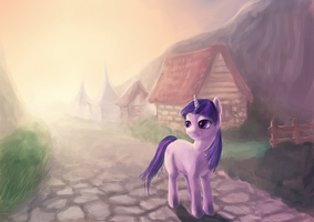 Evening walk by miokillerwinx
