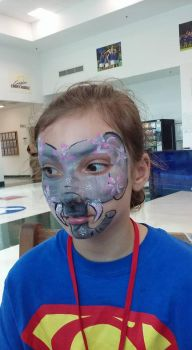 elephant face paint by funfacesballoon
