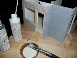 Les Shoppes Dollhouse Project: WIP 15 by kayanah
