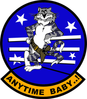 F-14 Tomcat Anytime Baby Flight Insignia by viperaviator