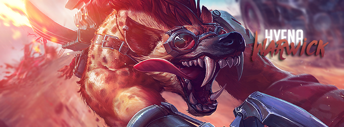Hyena Warwick // Cover Facebook by gwannah