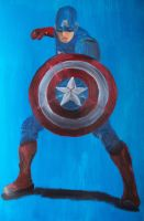 Captain America by billywallwork525
