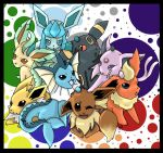 Eevee Evolutions by DeepestSilence