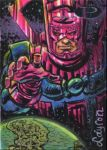 Marvel Premier Sketch Card: Galactus by DeJarnette