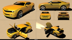 Chevy Camaro Working approx 24hrs by REDWOOD3D