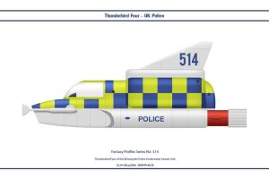 Fantasy 514 Thunderbird Four Police by WS-Clave