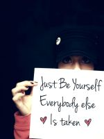 Be Yourself by Ann-INC
