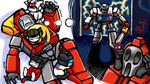 Ironhide's bad dream by chingc