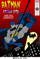 Batman Awesome City by monjava