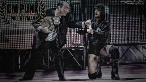 CM PUNK WITH PAUL HEYMAN by cmpunkster