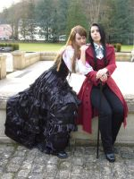 EMONO AND HARYU COSPLAY by Chaosvin