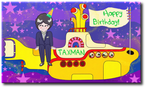 HAPPY BIRTHDAY TAXMAN by RetroNinja