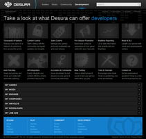 Desura Developers Page by intense