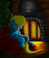 Foal's christmas by Exelzior-Maximus