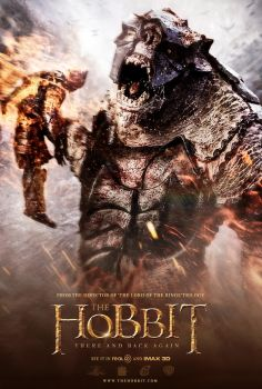 The Hobbit There And Back Again Movie Poster by rcrain98