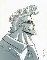 Franky's New 'Do by GarthTheDestroyer