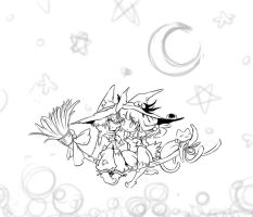 Happy Halloween 2011 WIP by Pencil-this