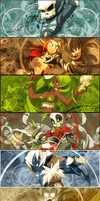 Wakfu siggies by PinkyPinkee