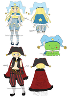 .Outfit Design. by lNeko-Hime