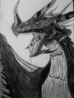 Dark Dragon by safira94