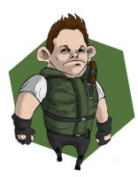 Chris Redfield by TheKidIsGreen