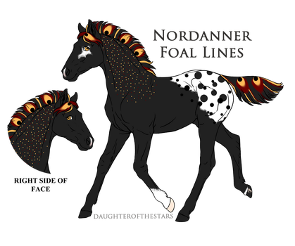 A4512 Foal Design by IcefireStarfire
