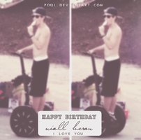 {ID - HAPPY BIRTHDAY NIALL, I LOVE YOU} by Poqi