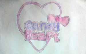 Candy Heart- Logo and info by MikaTheBlueKitty
