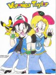 Ash and Veronica Taylor by ImmaComicGenius