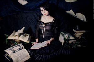 Books for Alice by iomaSaty