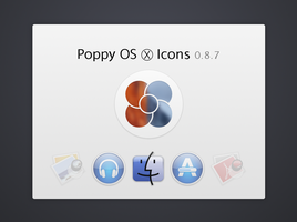Poppy OS X Icons 0.8.7 by KAYOver