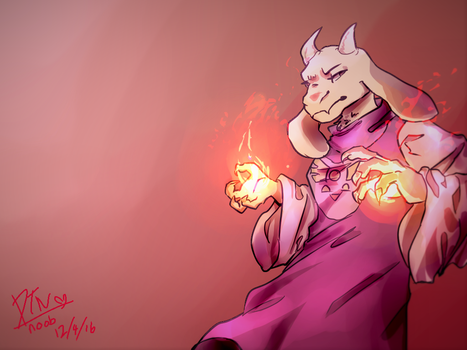 Toriel by determined-noob