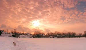 winter_panorama by victor23081981