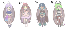 Cash or Points: Adoptables CLOSED by Theera