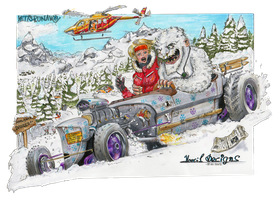 Yeti's avalanche by HorcikDesigns