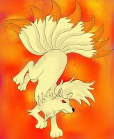 The Power of Ninetails by YoshiGamerGirl