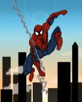 The Amazing Spider-man by Toe-Knee-Bee-Ears