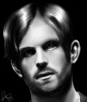 Caleb Followill- kings of leon by jackdarton