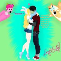 Did That Just Happen!? or Fiolee Kiss by angelbaby2246