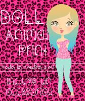 Doll Animal print. by Aguuuuuuuuuu